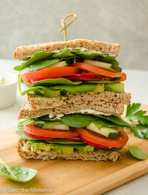 ultimate-veggie-sandwich-lemon-herb-cream-cheese-flavorthemoments.com_