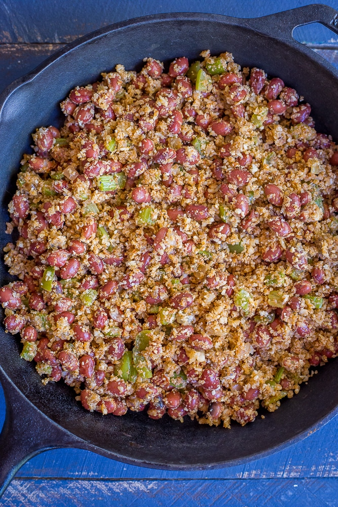 30 Minute Red Beans and Cauliflower Rice-7397