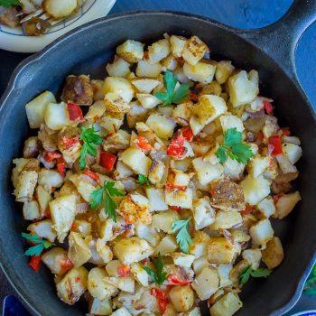 Easy Crispy Breakfast Potatoes