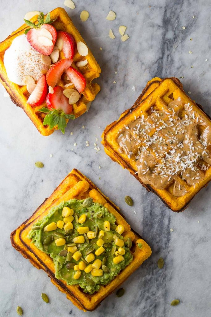 Freezer-Friendly-Crispy-Sweet-Potato-Waffles-7