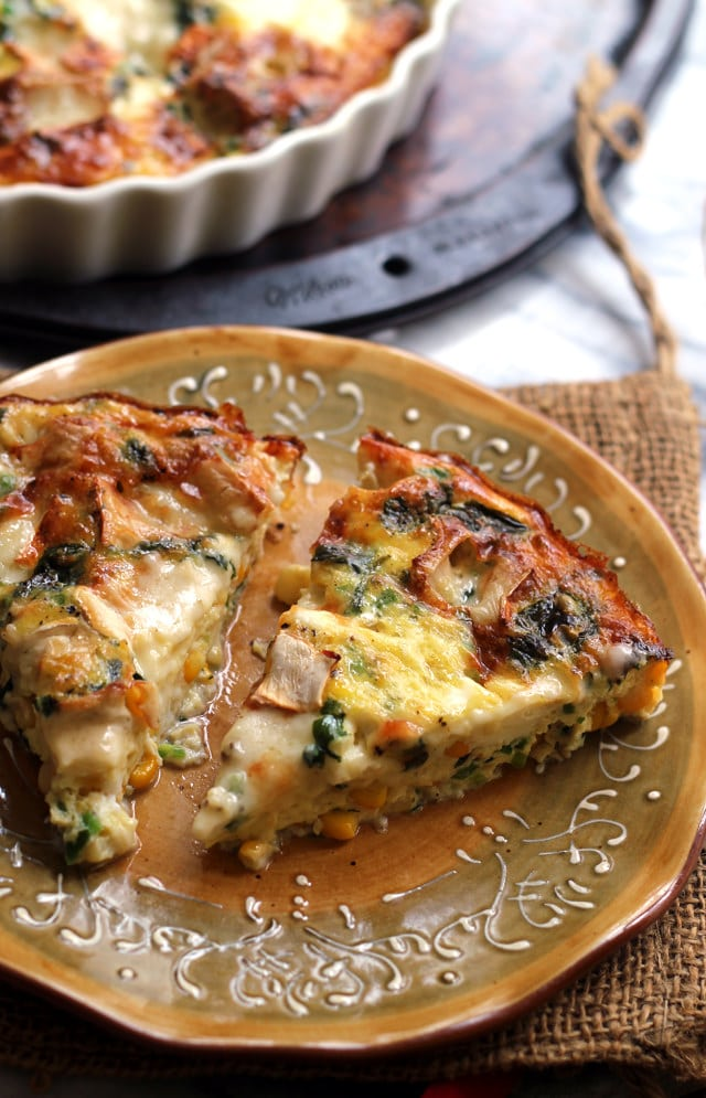corn-jalapeno-and-brie-frittata