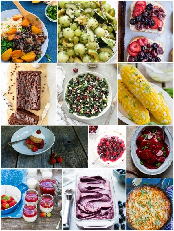 July Seasonal Recipes