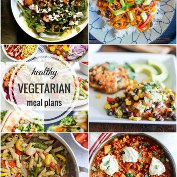 Healthy Vegetarian Meal Plan – Week 56