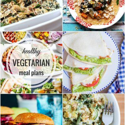 Healthy Vegetarian Meal Plan – Week 57