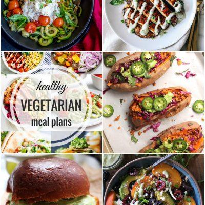 Healthy Vegetarian Meal Plan – Week 59