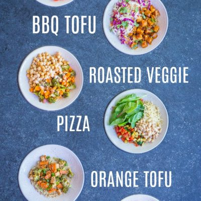 Easy Vegan Quinoa Bowls – 6 Ways