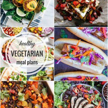 Healthy Vegetarian Meal Plan – Week 60