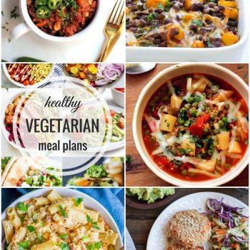 Healthy Vegetarian Meal Plan – Week 61