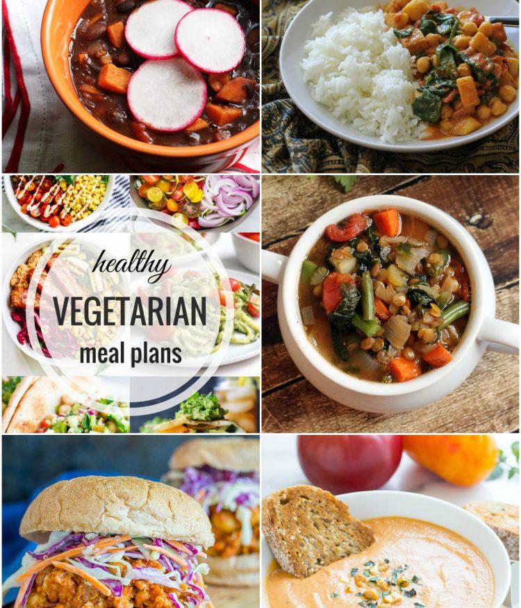 Healthy Vegetarian Meal Plan – Week 63