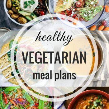 Healthy Vegetarian Meal Plan – Week 66