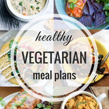 Healthy Vegetarian Meal Plan – Week 68