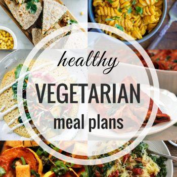 Healthy Vegetarian Meal Plan – Week 67