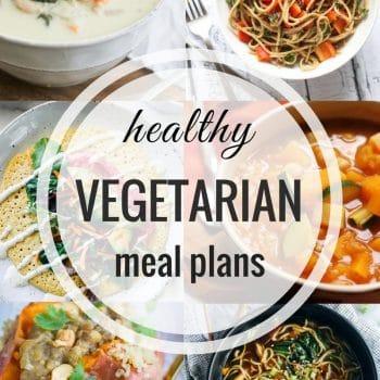 Healthy Vegetarian Meal Plan – Week 71