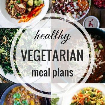 Healthy Vegetarian Meal Plan – Wee 74