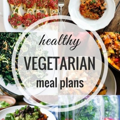 Healthy Vegetarian Meal Plan – Week 76