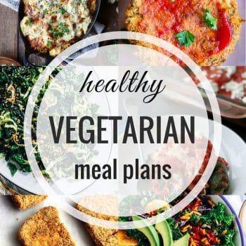 Healthy Vegetarian Meal Plan – Week 77