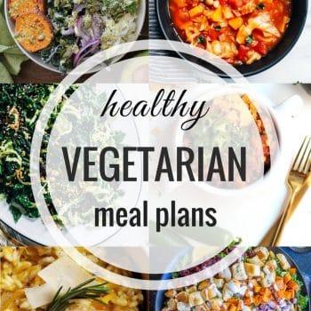 Healthy Vegetarian Meal Plan -Week 78