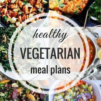 Healthy Vegetarian Meal Plan – Week 82