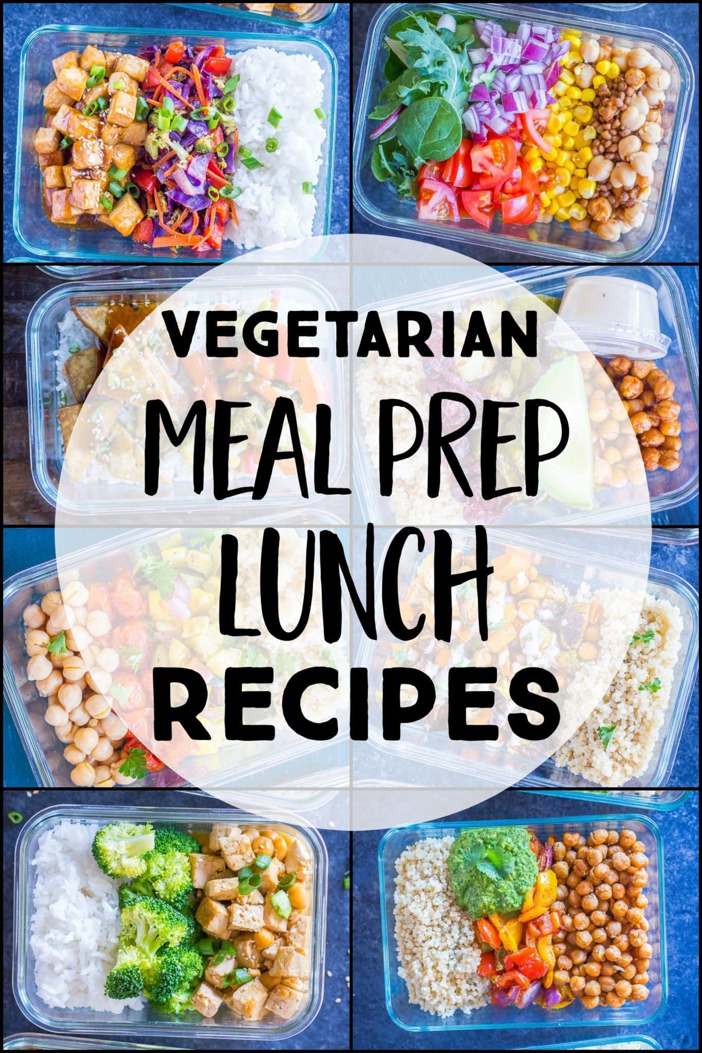 32 Healthy Vegetarian Meal Prep Recipes She Likes Food