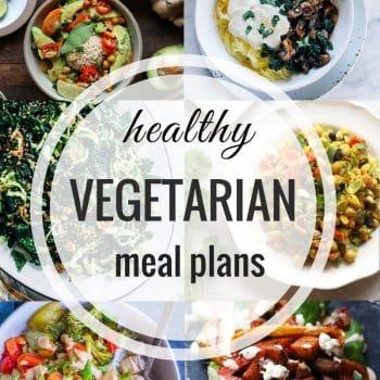 Healthy Vegetarian Meal Plan – Week 86