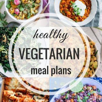 Healthy Vegetarian Meal Plan – Week 89