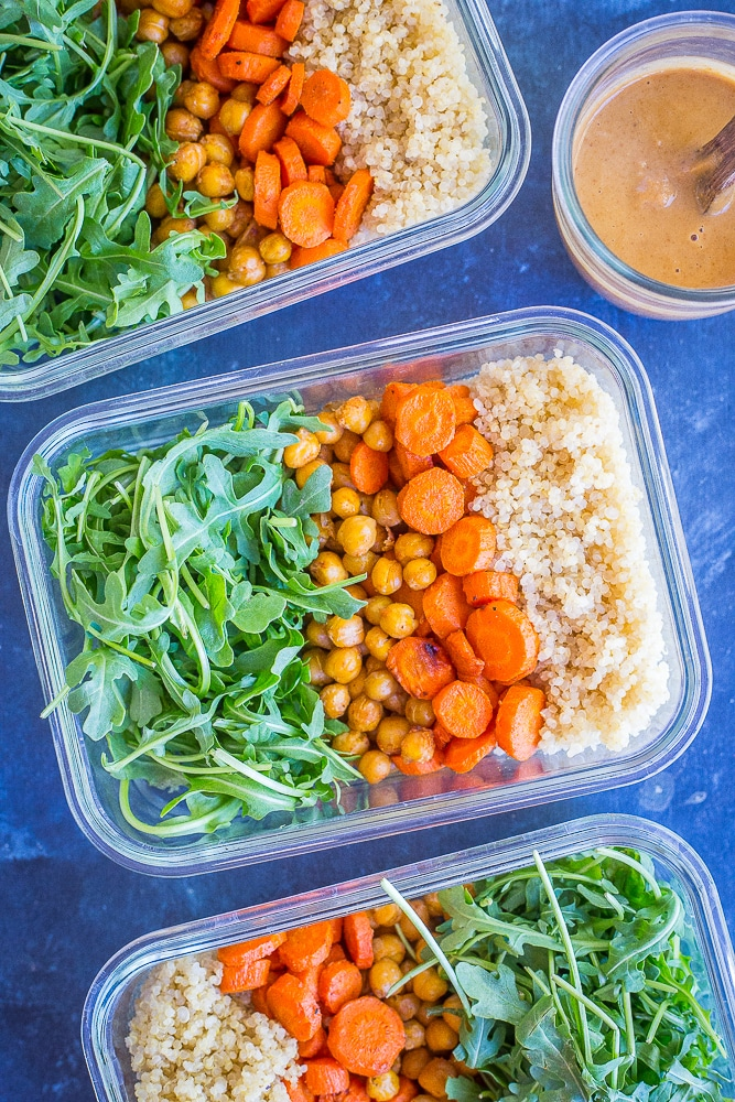 16 Vegan Meal Prep Recipes {Lunch} - She Likes Food