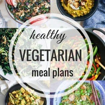 Healthy Vegetarian Meal Plan – Week 92