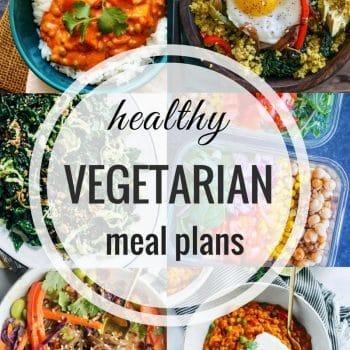 Healthy Vegetarian Meal Plan – Week 93