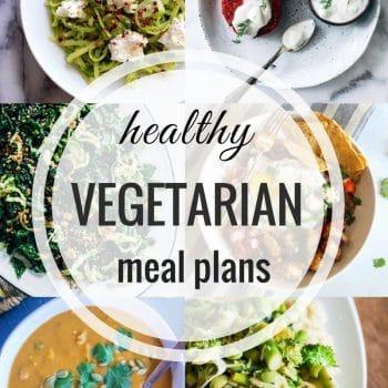 Healthy Vegetarian Meal Plans – Week 94