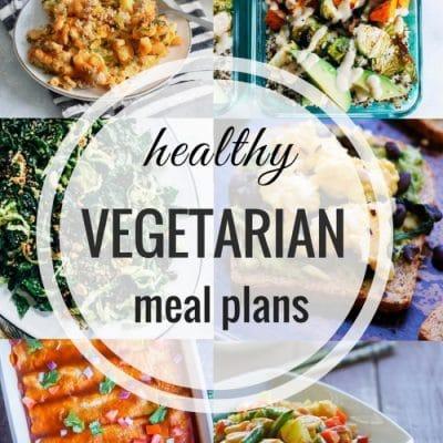 Healthy Vegetarian Meal Plan – Week 91