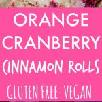 Orange Cranberry Cinnamon Rolls Pinterest long pin