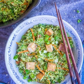 "Easy Broccoli Fried ""Rice"""