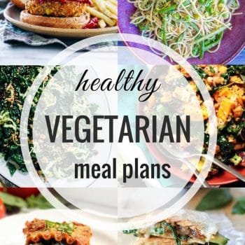 Healthy Vegetarian Meal Plan – Week 98