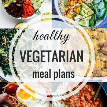 Healthy Vegetarian Meal Plan – Week 97