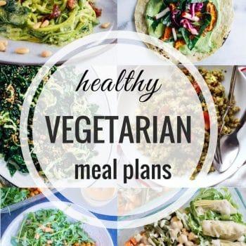 Healthy Vegetarian Meal Plan – Week 95