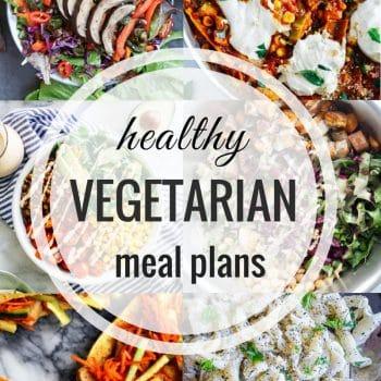 Healthy Vegetarian Meal Plan – Week 103