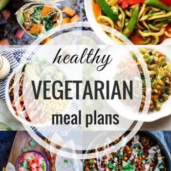 Healthy Vegetarian Meal Plan – Week 100