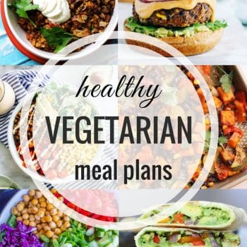 Healthy Vegetarian Meal Plan – Week 101