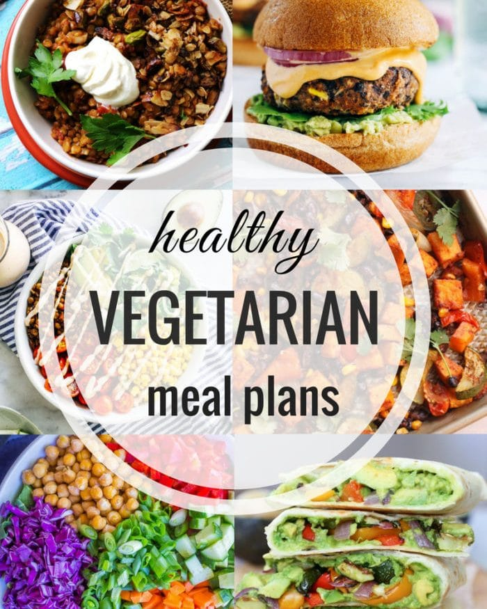 Healthy Vegetarian Meal Plan – Week 101