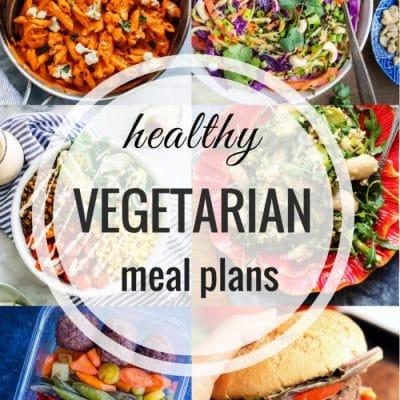 Healthy Vegetarian Meal Plan – Week 99