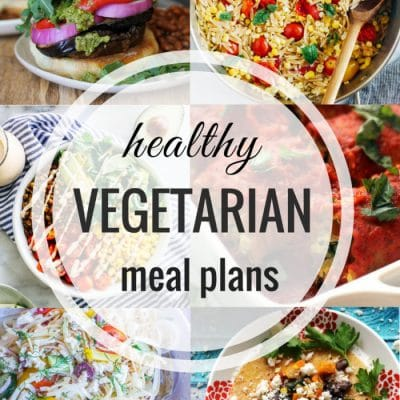 Healthy Vegetarian Meal Plan – Week 108