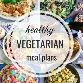 Healthy Vegetarian Meal Plan – Week 110