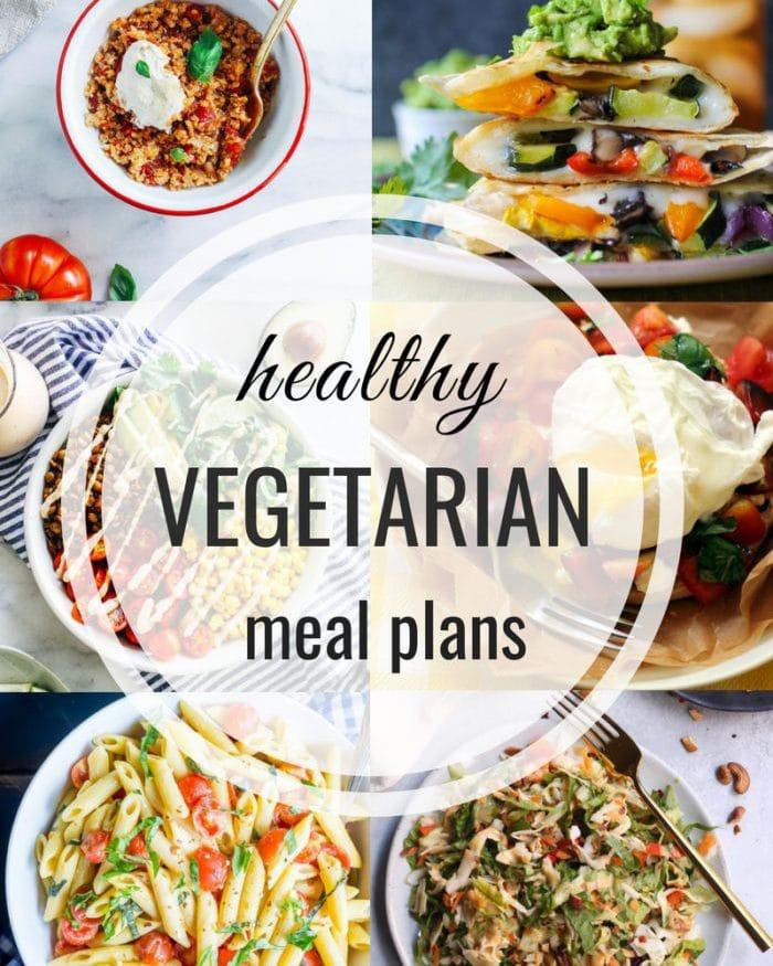Healthy Vegetarian Meal Plan – Week 111