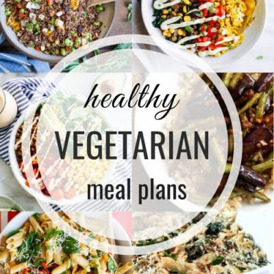 Healthy Vegetarian Meal Plan – Week 112