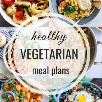 Healthy Vegetarian Meal Plan – Week 109