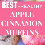 Pinterest collage pin for Best Healthy Apple Cinnamon Muffins