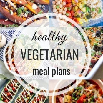 Healthy Vegetarian Meal Plan – Week 115