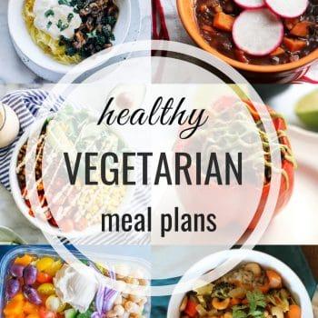 Healthy Vegetarian Meal Plan – Week 116