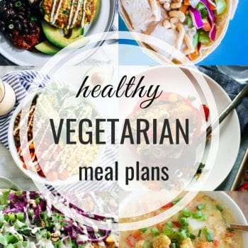 Healthy Vegetarian Meal Plan – Week 113