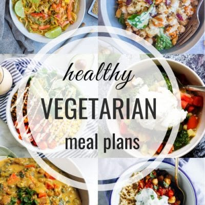 Healthy Vegetarian Meal Plan – Week 114